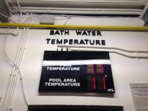 bath temperature