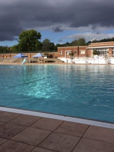 Parliament Hill Lido on Thursday